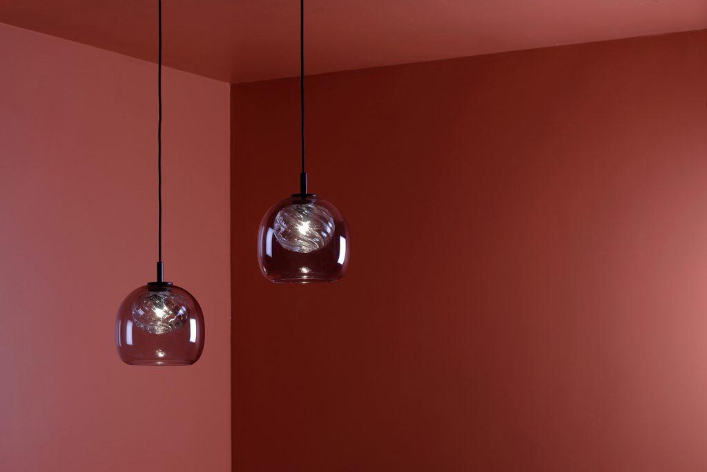 Inside glass pendant by Morten & Jonas