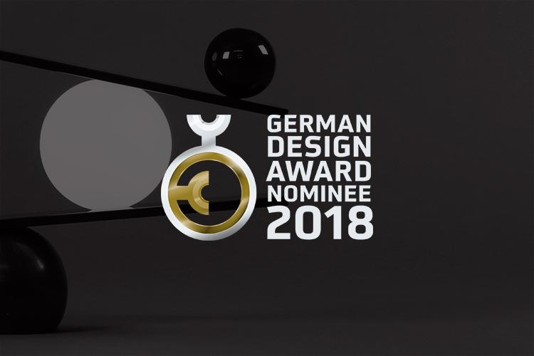 Balance nominated for the German Design Award