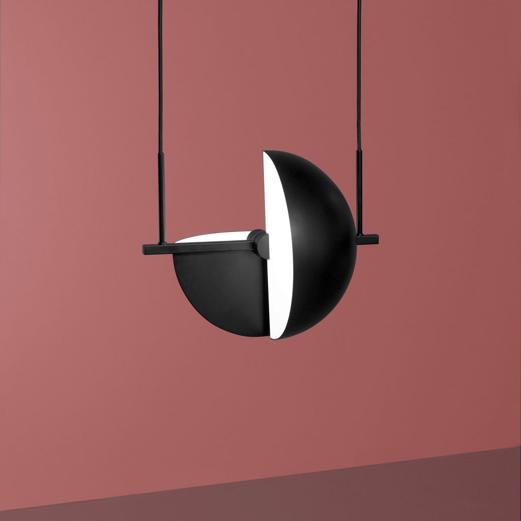 Trapeze pendant lamp by Jette Scheib for Oblure