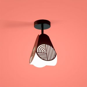 Notic ceiling lamp by Notchi Architects for Oblure